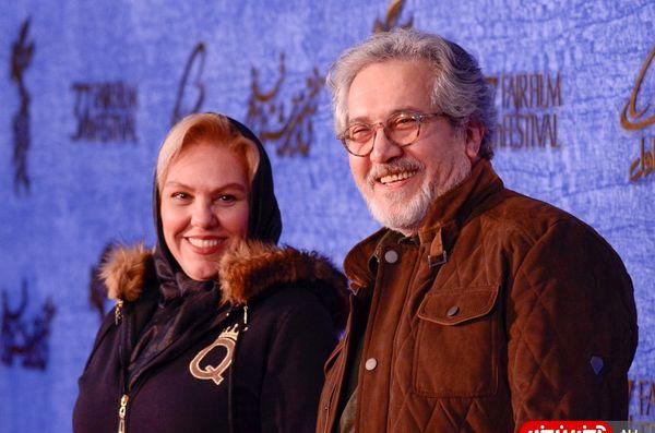 زوج هنرمند به جشنواره فجر آمدند/عکس