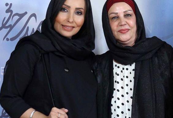 عاشقانه پرستو صالحی برای مادر دومش+عکس