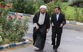 مبارزه با فساد را از درون دستگاه قضا شروع کردیم/ چالش سنگین آیتالله لاریجانی با رئیس دولت قبل