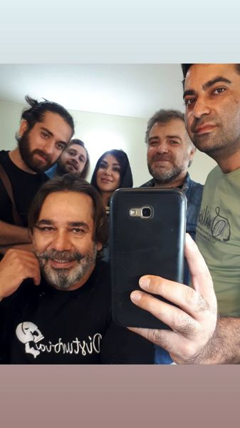 داریوش سلیمی در جمع دوستانش + عکس