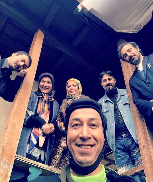 سلفی پایتختی ها باهم + عکس