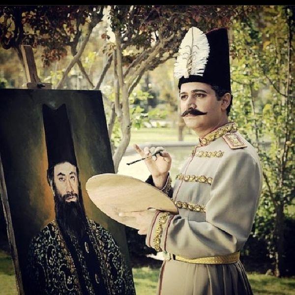 آقای بازیگر در نقش ناصرالدین شاه + عکس