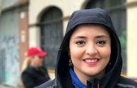 پوشش نرگس محمدی در خارج از کشور
