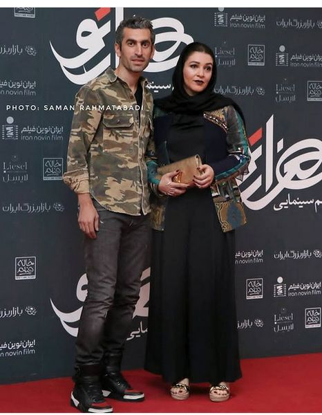 ست کردن متفاوت مجتبی جباری و همسرش+عکس