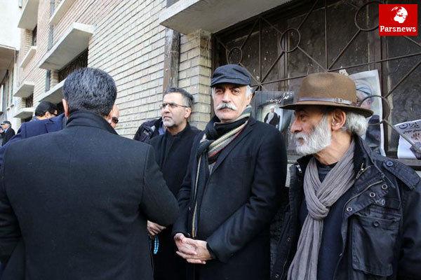 کدام سینماگران به مراسم تشییع پیکر آیت الله هاشمی آمدند؟ / عکس