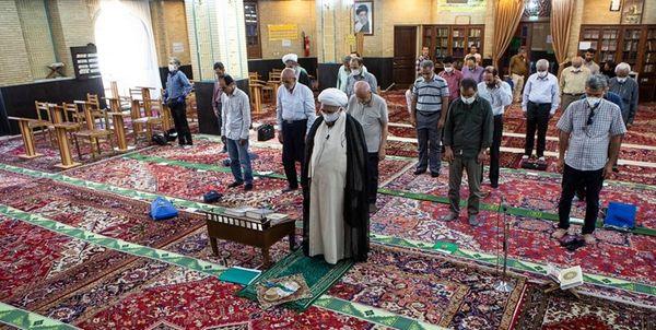 لغو برگزاری نماز جماعت در مساجد ٨ شهر فارس