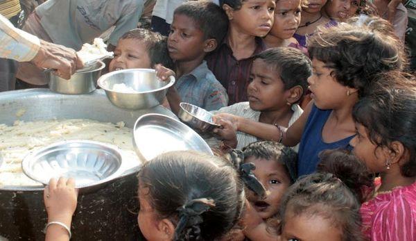 گرسنگی در هند، جان ۱۷ هزار نفر را گرفت