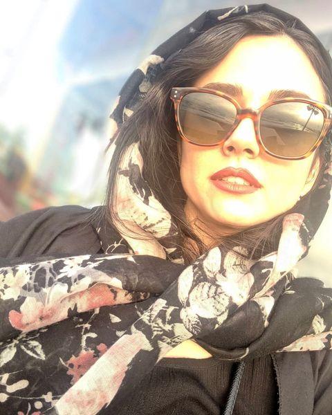 عکس تابستانی دختر آقای کارگردان