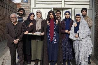 عکس دسته جمعی بازیگران سریال پرطرفدار این شبهای تلویزیون