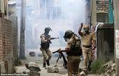 درگیری در خیابانهای مرکز کشمیر