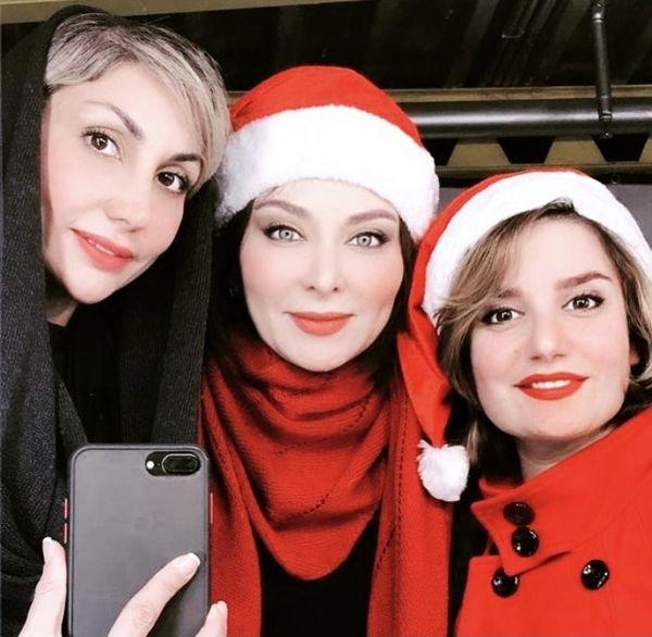 استایل بابانوئلی فقیهه سلطانی + عکس
