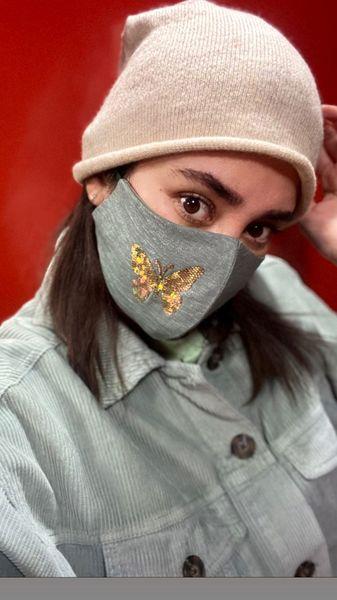 ماسک خاص بهاره افشاری + عکی