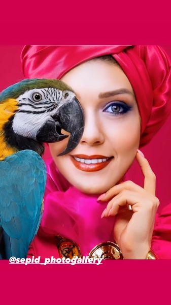 طوطی زیبا شهرزاد کمال زاده + عکس