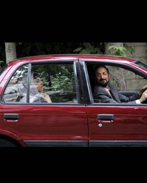 ژوله و همسر جدیدش در ماشین + عکس