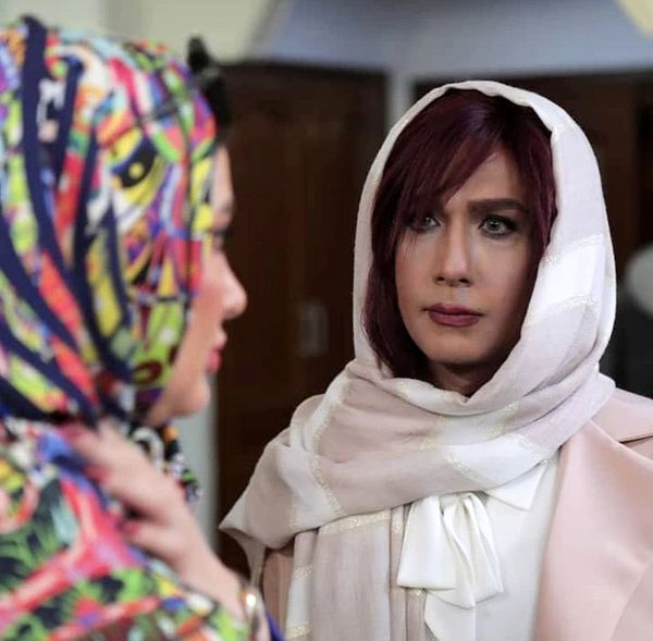 نقش آفرینی متفاوت حسین مهری د نقش یک زن + عکس