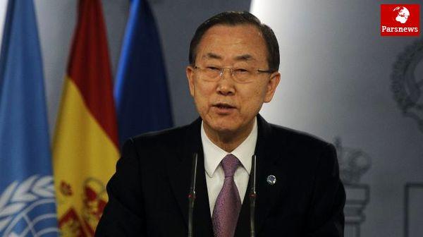 امیدواری بان کی مون به مذاکرات هسته ای