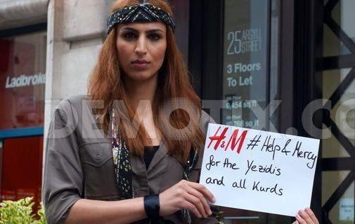 کوبانی یک برند نیست، کوبانی زندگی است/ کمپانی عظیم H&M تصمیم به تصاحب زنان گریلا+ عكس