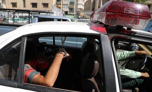 شلیک پلیس به فرار خودروی مسروقه پایان داد