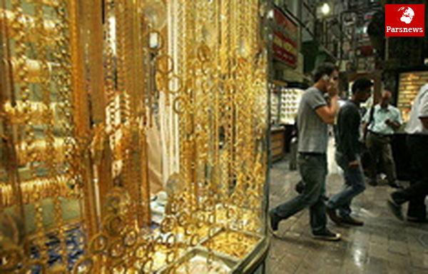 قیمت طلا و سکه در بازار کاهش یافت