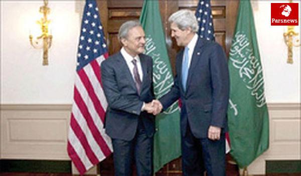 دیدار وزیر امور خارجه عربستان با جان کری در واشنگتن