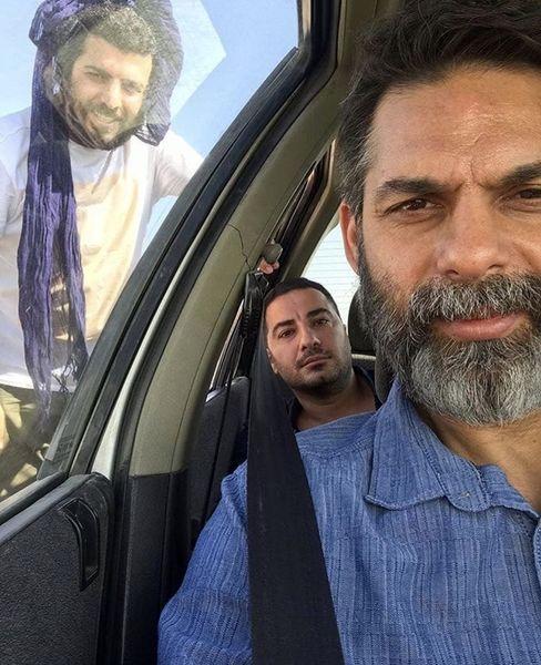 سلفی پیمان معادی با ستاره های سینمای ایران + عکس