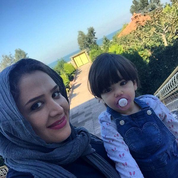 خاله سارا و دختر موچتری اش+عکس