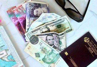 قیمت ارز مسافرتی در 23 مهر 97