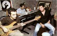 وقتی حامد بهداد یک گروه موسیقی بوده + عکس
