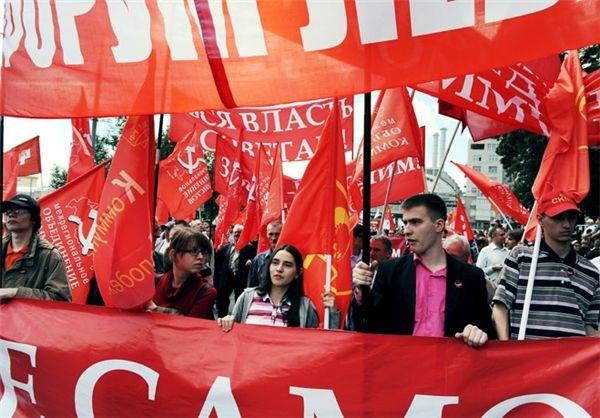 تظاهرات هزاران نفری مخالفان دولت «پوتین» در مسکو + تصاویر 