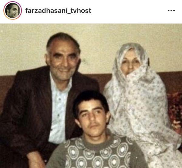 فرزاد حسنی در دوران نوجوانی + عکس
