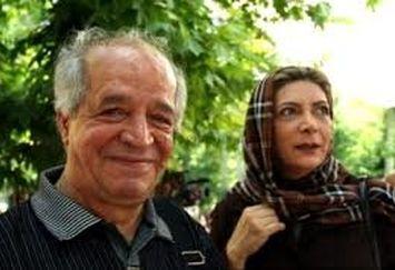 مهوش وقاری و همسرش در مراسم افتتاحیه نمایش برزخ+عکس