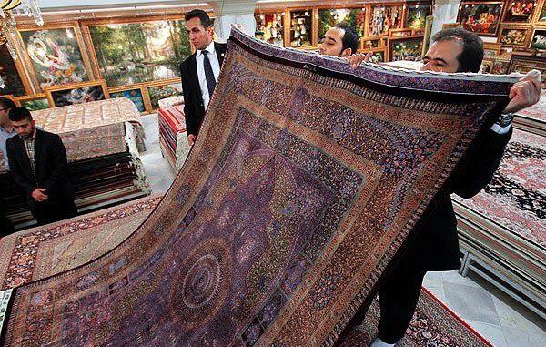 (تصاویر) رونمایی از فرش نفیس پرسپولیس