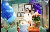 تولد ایمان اشراقی در محل کارش + عکس