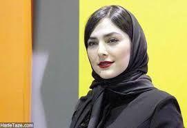 هدی زین العابدین با چشمی معیوب/عکس