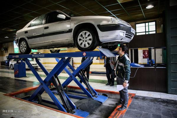 مهلت دو هفته ای به خودروهای فاقد معاینه فنی
