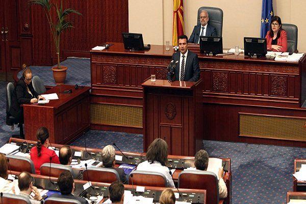 تصویب تغییرنام مقدونیه راهی برای عضویت در ناتو
