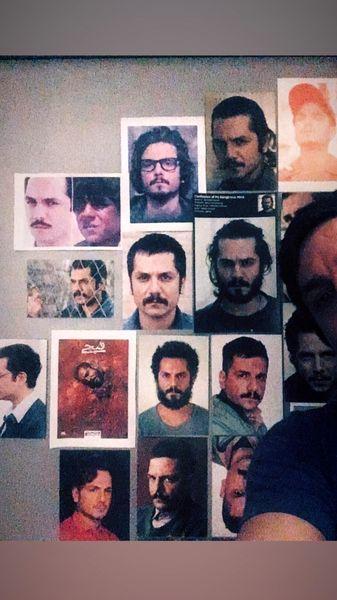 چهره های مختلف عباس غزالی در فیلم ها و سریال هایش + عکس