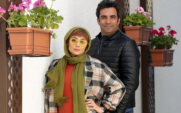 حس بهاری یکتا ناصر و همسرش وسط تابستان+عکس