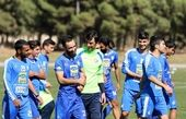 فوتبال درون تیمی استقلالیها+فیلم