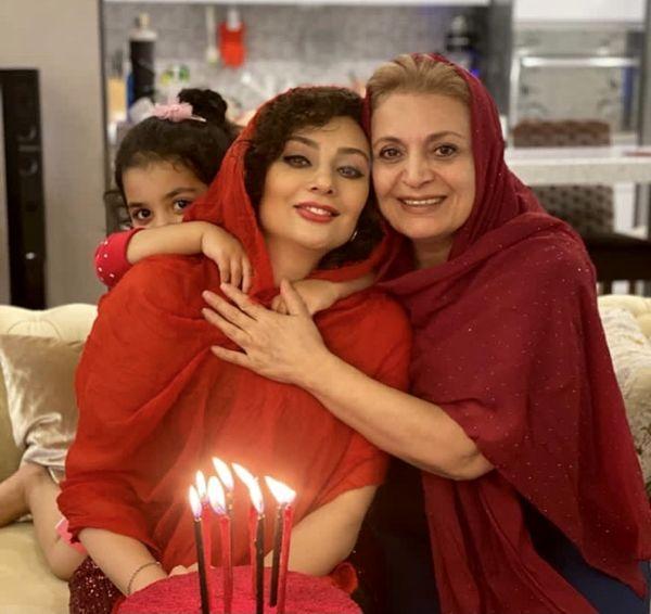 تولد یکتا ناصر در کنار مادر و دخترش + عکس