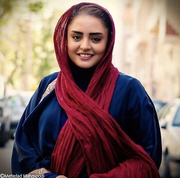 ستایش معروف در خیابان های تهران + عکس