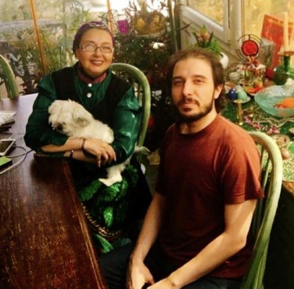 کتایون ریاحی در کنار پسر بزرگش + عکس