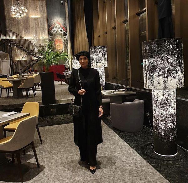 مریممعصومی در رستورانی لاکچری + عکس