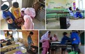 سوز سرما همکلاس دانش آموزان/چراغ علاءالدین رؤیاها را به بادمیدهد