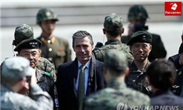 دبیرکل ناتو از مرز پرتنش ۲ کره بازدید کرد