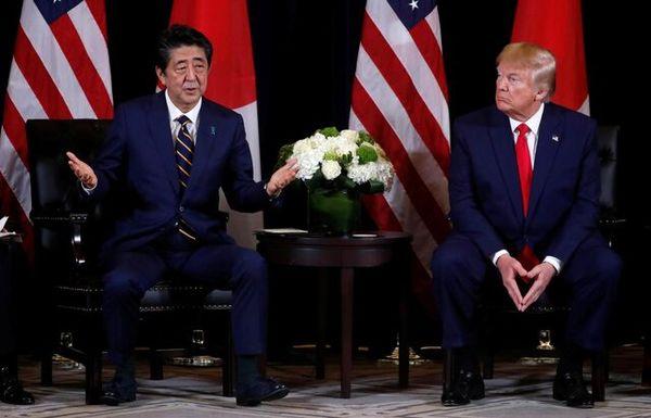 توافق ترامپ و آبه برای همکاری در راستای مقابله با کرونا