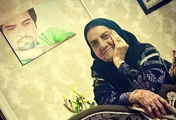 مادر شیرین شهرام قائدی+عکس