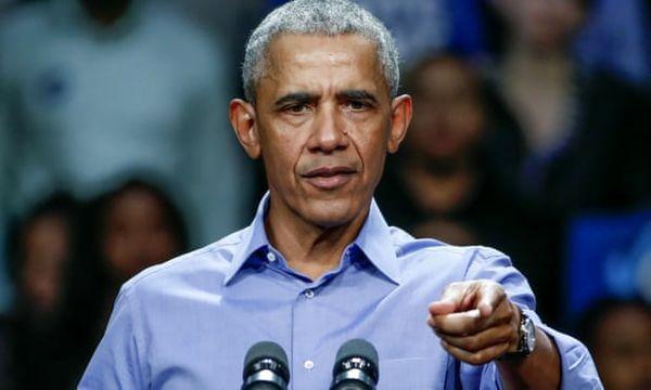حمله اوباما به ترامپ