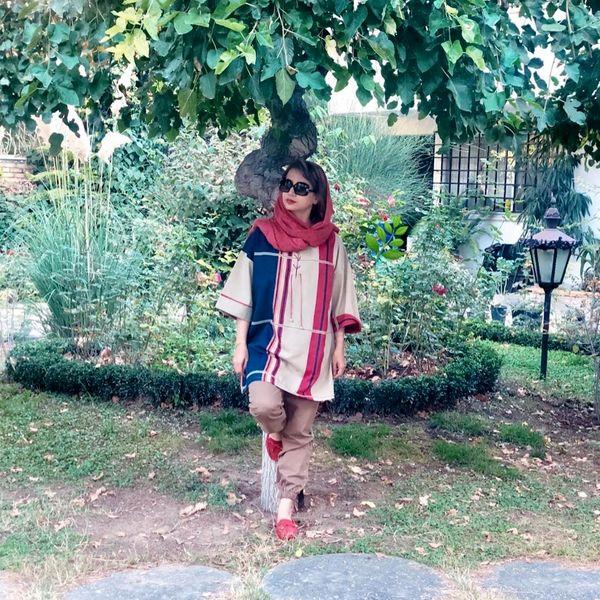 عکس شبنم قلی خانی در ویلای لوکس