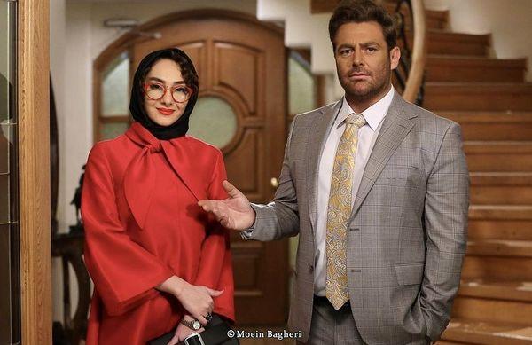 همبازی شدن هانیه توسلی با گلزار پس از سالها + عکس